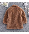 Maxi cappotto peluches baby