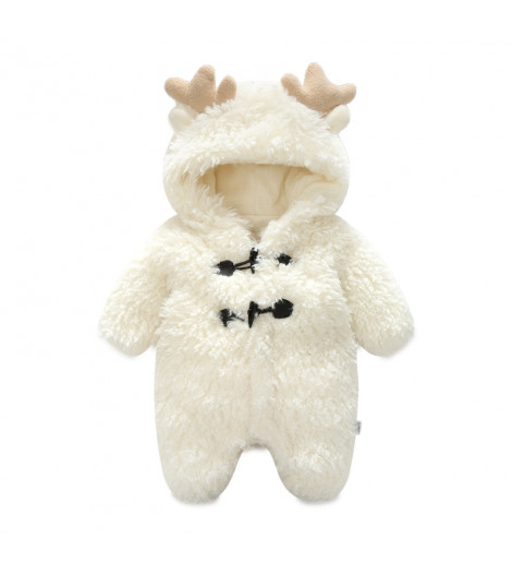 Baby tutina renna bianca