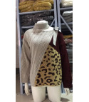 Leopard tricolor pull