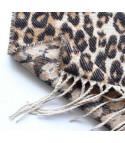 Maxi sciarpa leopard
