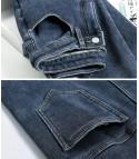 Jeans imbottiti con pelo