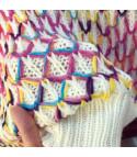 Completo colorfur maglione+gonna