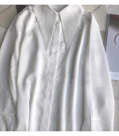 Camicia bianca maxi punte