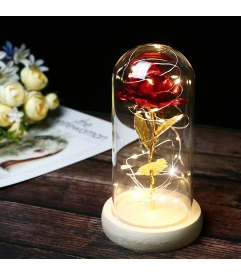 Rosa sotto vetro