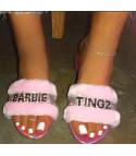 Ciabattine Barbie