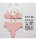 Bikini vita alta dolcevita