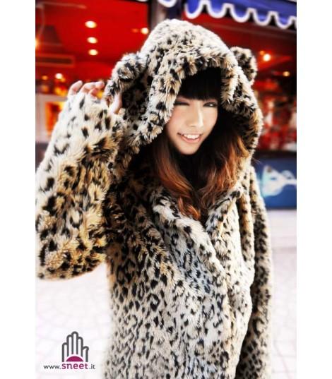 Pellicciotto Bear leopard