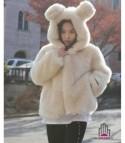 Pelliccia Sweet Bear Panna