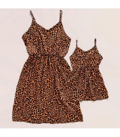 Coordinato mamma-figlia leopard dress Hanna