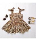 Minidress leopard babyboomer bambina