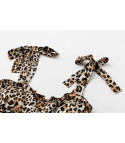 Minidress leopard babyboomer