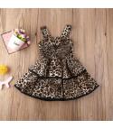 Minidress doublevolant bambina