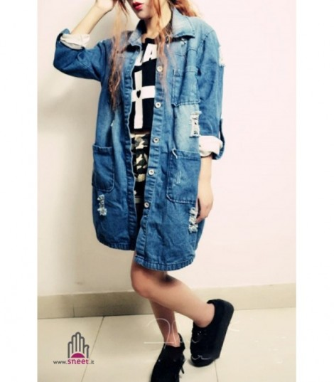Trench Juk Denim