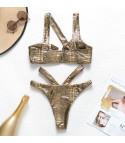 Bikini gold pyton
