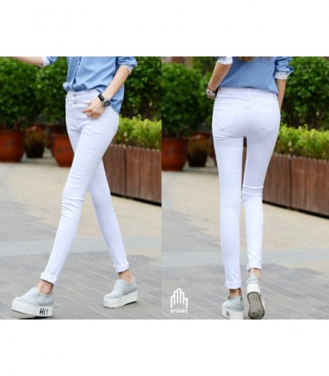 Skinny jeans simple whime