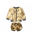 Completo sporty gold baby