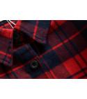 Maxi camicia tartan Topolino