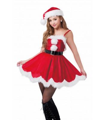 Vestito donna Santa Claus
