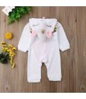 Tutina baby unicorno zip