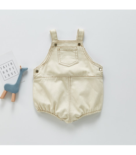 Body-salopette baby denim