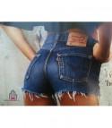 Shorts Levis 501 Vintage Blue