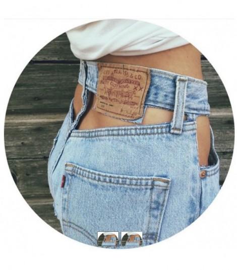Shorts Levis 501 Vintage Cutout