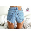 Shorts Levis 501 Vintage Light Blue 1