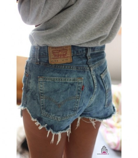 Shorts Levis 501 Vintage Light Blue 2
