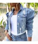Giubbino jeans corto Baloony