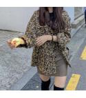 Camicione peloso leopard