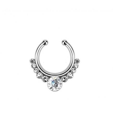 Quentum Fake Septum Ring