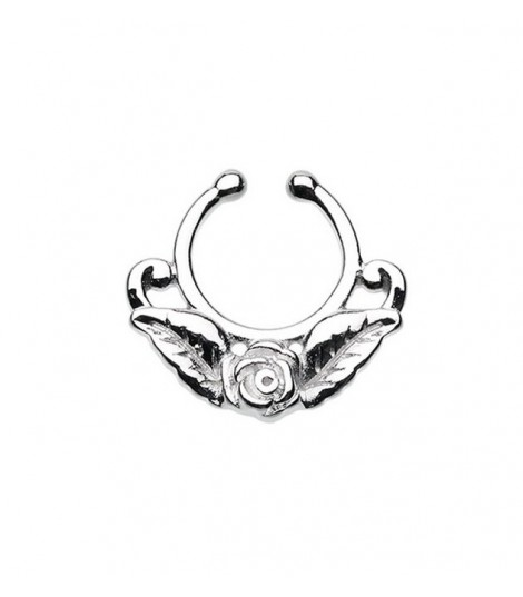 Rose Fake Septum Ring