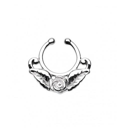 Rose Fake Septum Ring