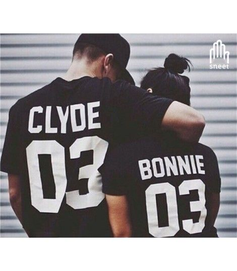 T-shirt Bonnie and Clyde