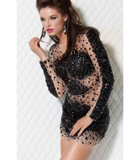 Sparkly Dress Black