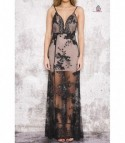 Sequinflow long dress