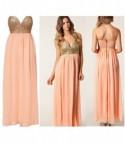 Sequin Bustier Dress