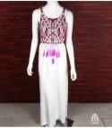 Boho Maxi vestito
