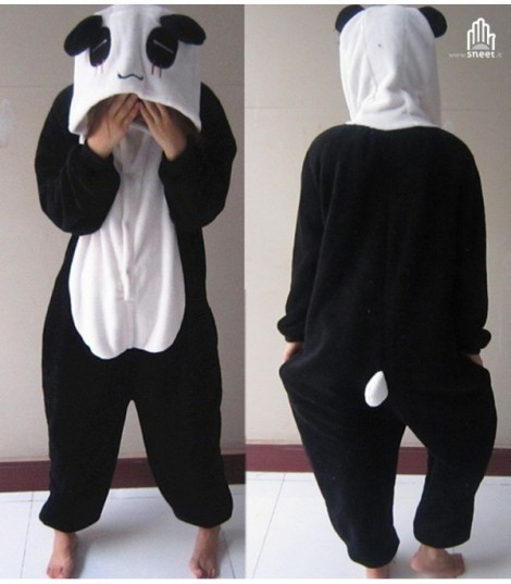 Pigiamone Panda