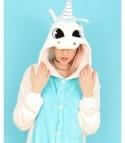 Pigiamone unicorn Azzurro