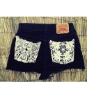 Shorts Levis Pizzo Black