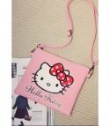 Pochette Cartoon Hello Kitty Red Bow