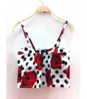 Rose Dots Crop top