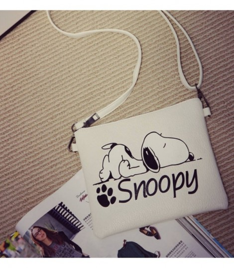 Pochette Cartoons Snoopy White
