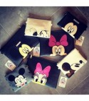 Pochette Cartoons Minnie Nero fiocco rosa