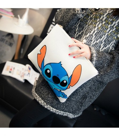 Pochette Cartoons Stitch White